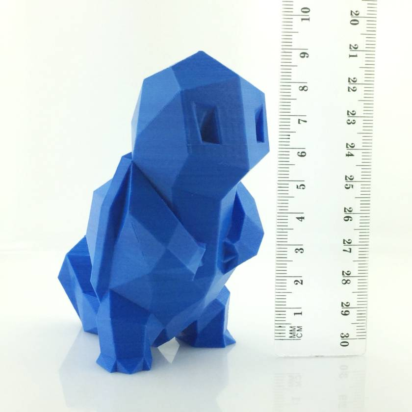3D Printed Pokemon Squirtle Figure 9cm