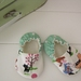 MissMollyCoddle Vintage Park Scene 0-6months shoes