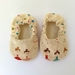 MissMollyCoddle baby shoes - Ballerina Baby Shoes 0-6months