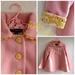 MissMollyCoddle Little Ladies Coat - Mustard and pink!