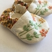 MissMollyCoddle baby shoes - Vintage embroidery 6-9months
