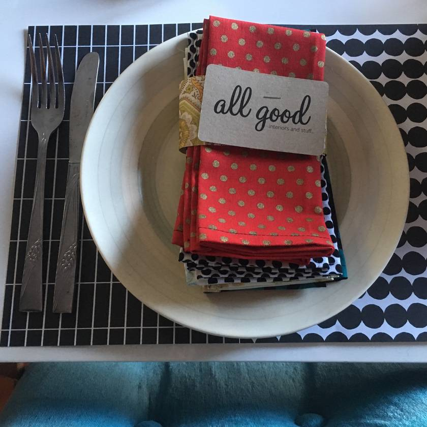 Good stuff napkins