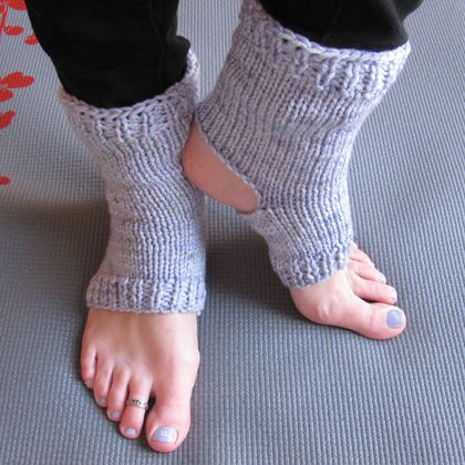Yoga socks: Lavender-Blue