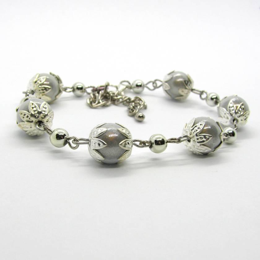 White & Silver Bracelet