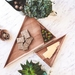 Set of 3 Nestling Triangle Serving Trays