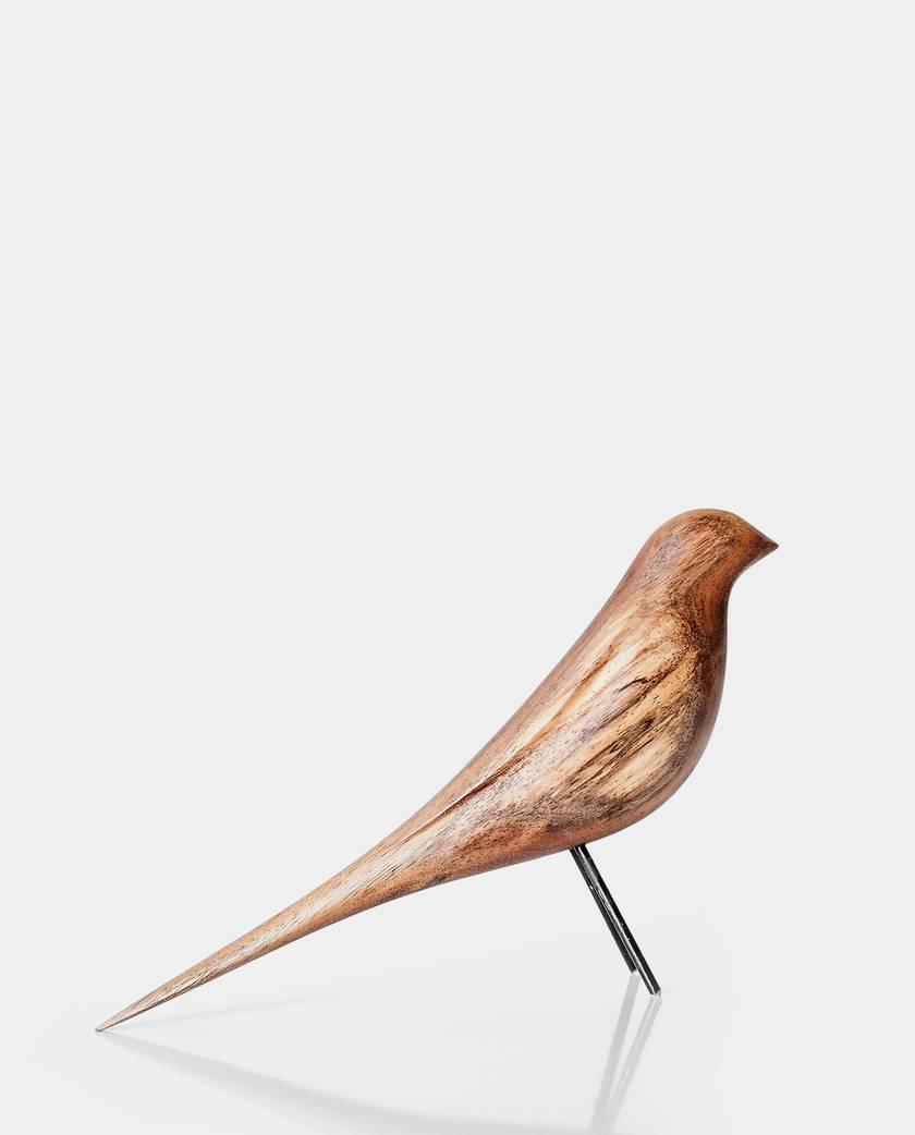 Bellbird Hand Carved Sculpture (New Zealand Native Bird)