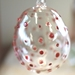 Bauble - Red Polka Dots Pattern