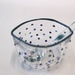 Polka Dot Sugar Bowl with Matching Spoon - Blue