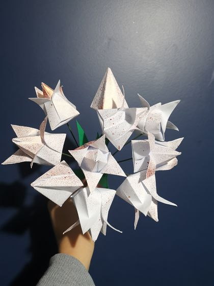 Paper Bouquet Tulips