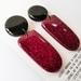 Handmade Glitter Disco Earrings
