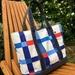 Canvas Tote Bag - Tricolore