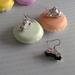 3d Car Earrings