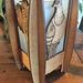 Kereru birch laser cut and engraved table lamp (electric)