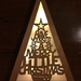 LED light up birch ply Christmas tree - Have yourself a merry little Christmas