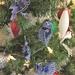 Native NZ bird laser engraved acrylic decorations - set of four