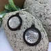 NZ five cent piece tuatara earrings