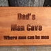 Check out this gift idea - Dad's Man Cave - can be personalized