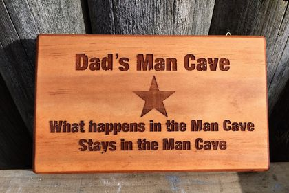 Check out this gift idea - Dad's Man Cave 2 - can be personalized