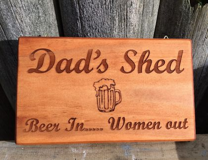 Check out this gift idea - Dad's Shed- can be personalized