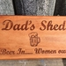 Fathers Day is 6th Sept - check out this gift idea - Dad's Shed- can be personalized