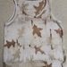 MERINO TOP DYED WITH OAK LEAVES