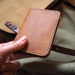 No.6 Tekapo Handmade Minimalist Leather Bilfold Wallet