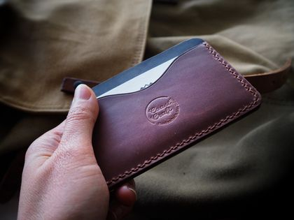 No.2 Havelock Handmade Leather Card Holder