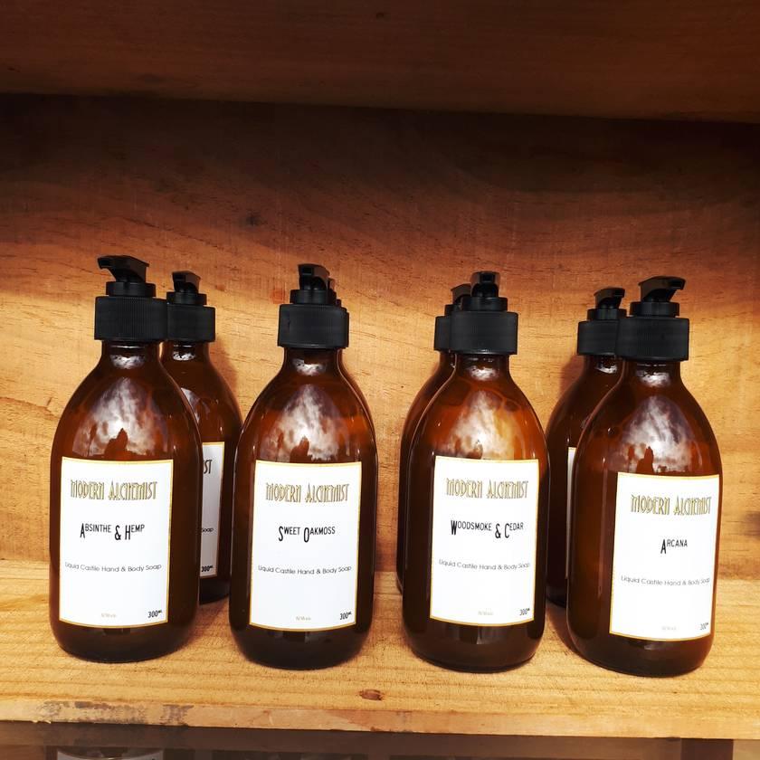 Liquid Castile Hand & Body Soap - 300ml