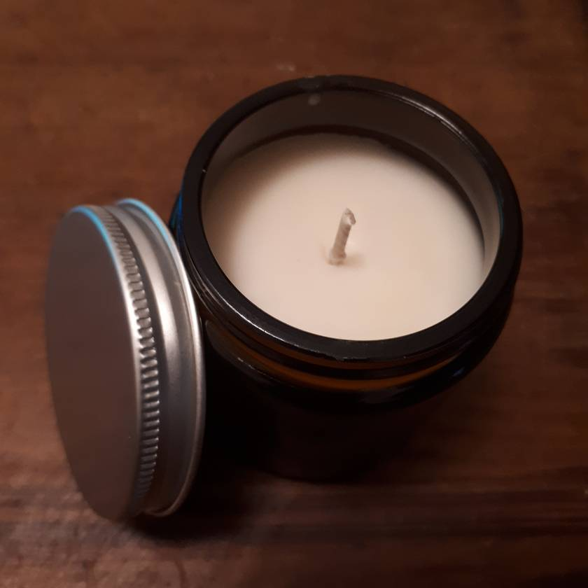 Amber Glass Jar - Soy Candle 175gm