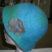 Green and Blue, Felted Hat