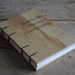 Hand Bound Wood Cover Gratitude Journal