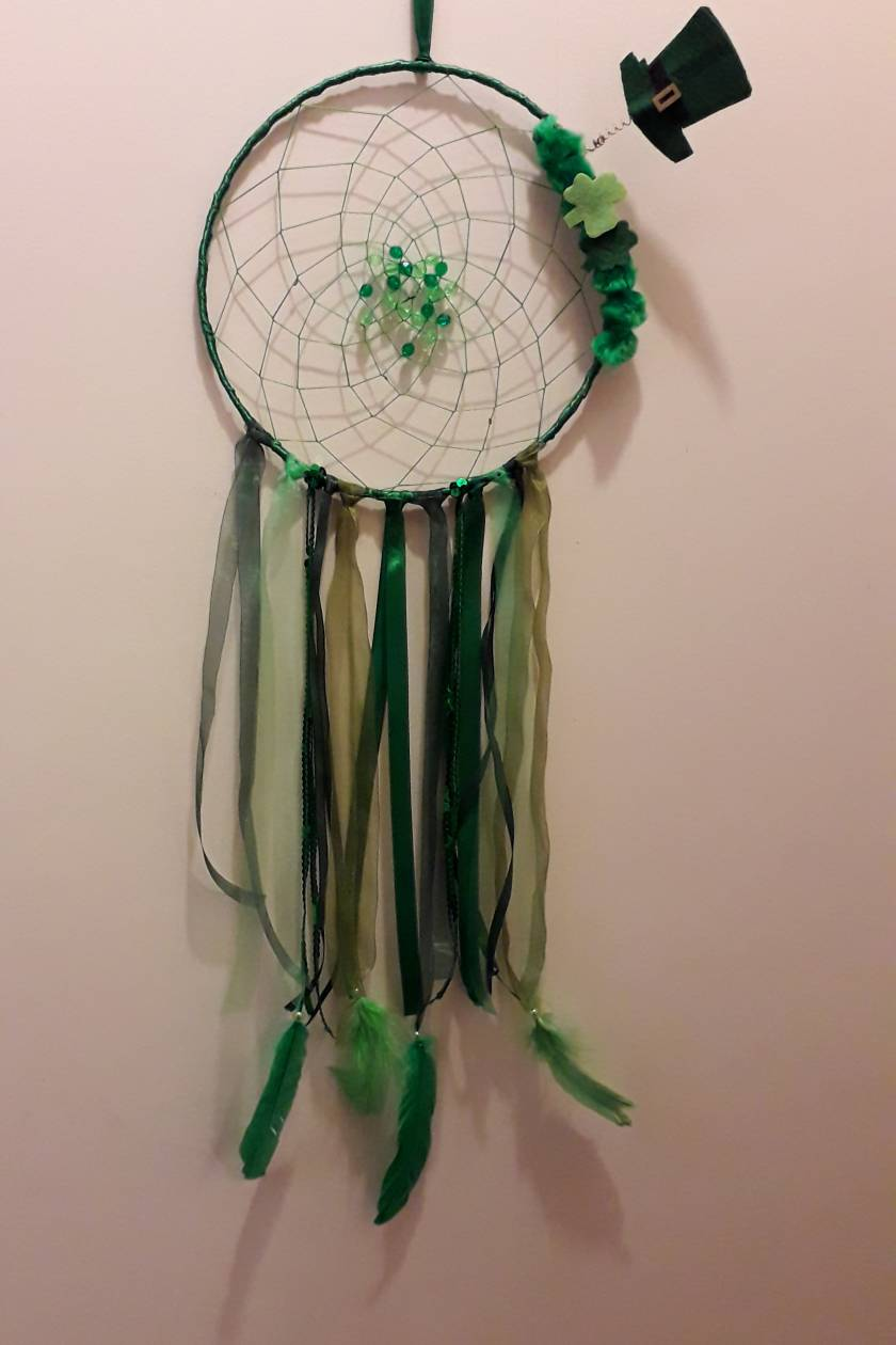 st patricks Irish dreamcatcher