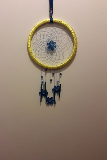 Flower Chimes Dreamcatcher
