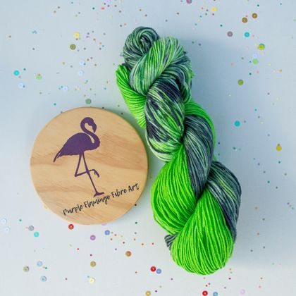Slytherin Inspried hand dyed Merino wool, 100G