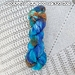 Hand dyed sock yarn, 100g, Rusty Beach