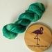 The Emerald City, 4 ply hand dyed merino, 100G