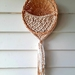Macrame wall hanging basket
