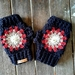 Crochetsoul fingerless gloves