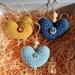 Crochetsoul heart hangings set of 3
