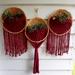 Macrame wall baskets set of 3