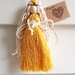 Macrame little Marigold angel