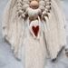 Heavenly macrame angels