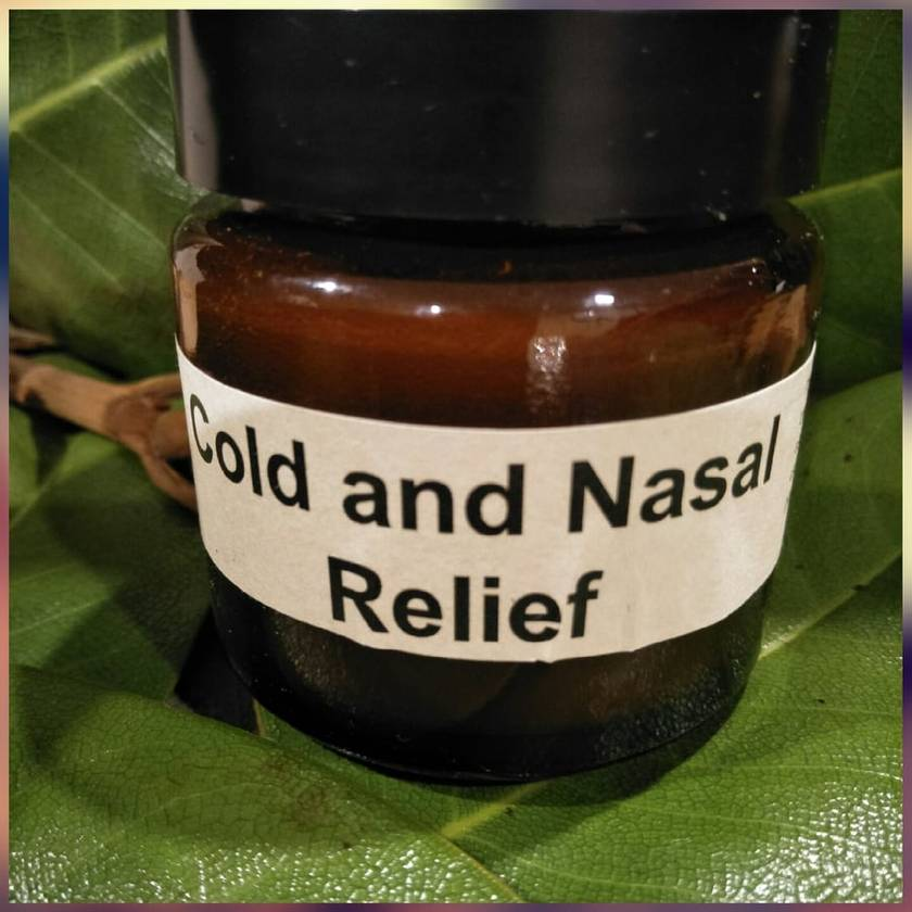 Cold and Nasal Relief-Bees wax based decongestant