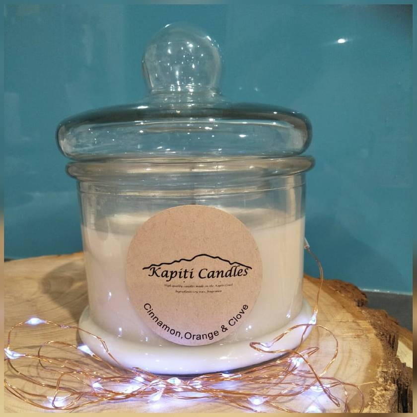 Large Soy Candle in Jar