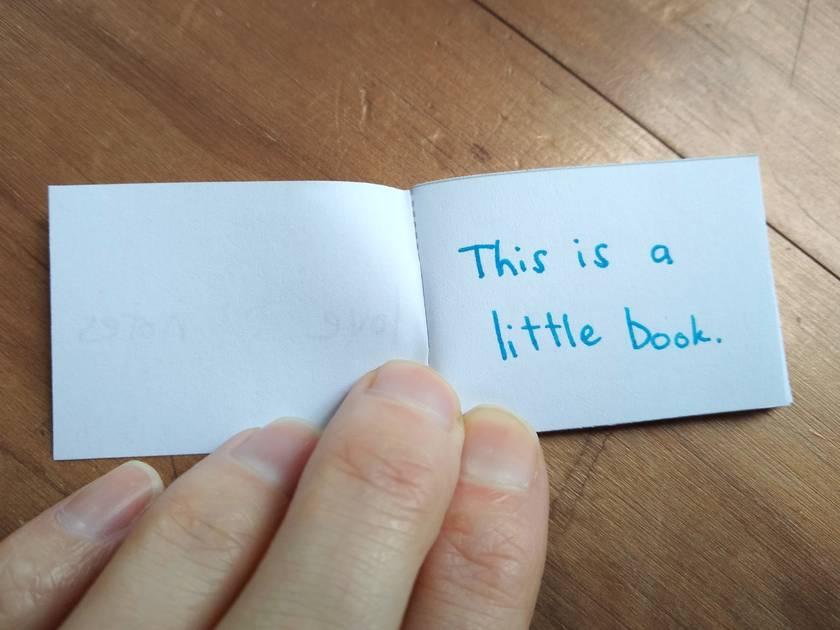Love notes - tiny-zine