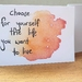 Choose for yourself the life you want to live - Inspirational Greeting Card