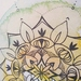 Greeting Card - Sweet Blossoming Mandala - Blank Inside