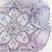 Fruitful Mandala - Original Watercolour and Line Art - A6