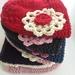 Annabel - Merino Flower Hat