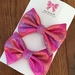 Two Small colourful bows